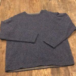 Woolrich Blue washable wool crewneck sweater XL